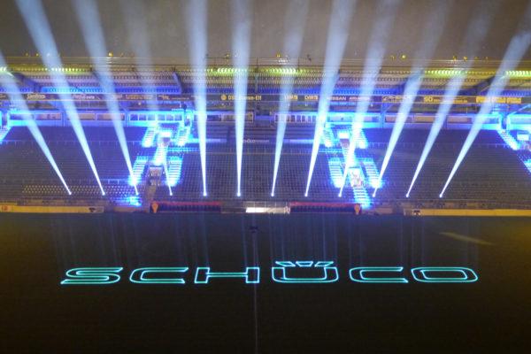 Laser Logoprojektion