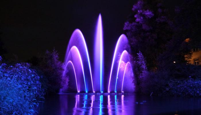 Wasserkunst für Stadtfest, Lichterfest oder Eröffnungsfeier